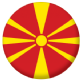 Macedonia Country Flag 25mm Pin Button Badge
